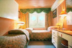 Comfortable Cabins on board the MS Ruby Cruise Ship from Louis Cruise Lines, Cat B