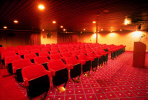 Enjoy a movie or show in the theatre on board the Ruby
